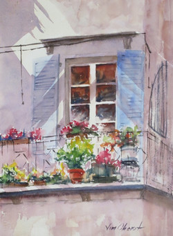 Jim Oberst - Balcony Garden
