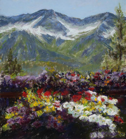 Mary M Giacomini - Mountains of Flowers