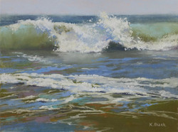 Kris Buck - Green Incoming Wave