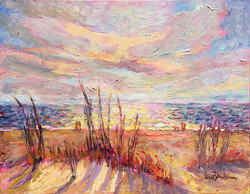 Lisa Blackshear - East Beach Dunes Sunrise