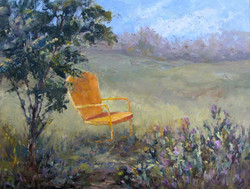 Nellie Gill - Yellow Chair