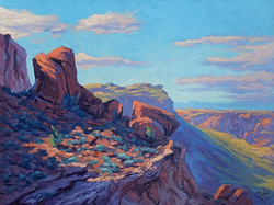 Philip Alexander Carlton - Last Light on the Moab Fault