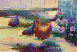 Brenda Pinnick - Chickens and Thistles