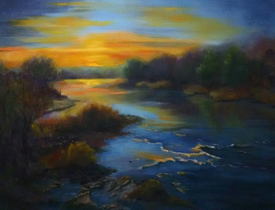 Jean Gauld-Jaeger - Duck River Sunset