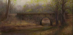Devin Roberts - Bridge Over a Stream, Early Spring