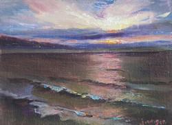 JoAnne Wood Unger - Malibu Sunrise