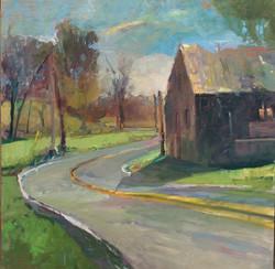 Walter Bartman - Bend in the Road
