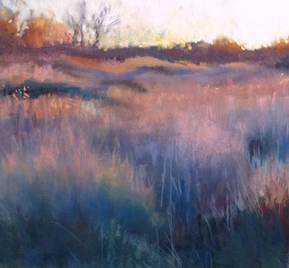 Marjorie Vincent - At the End of the Day in Little Camargue