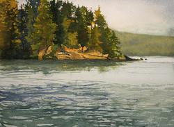 Zan Barrage - Algonquin, Lake of Two Rivers