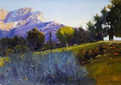 Dieter Berner - Purple Mountains