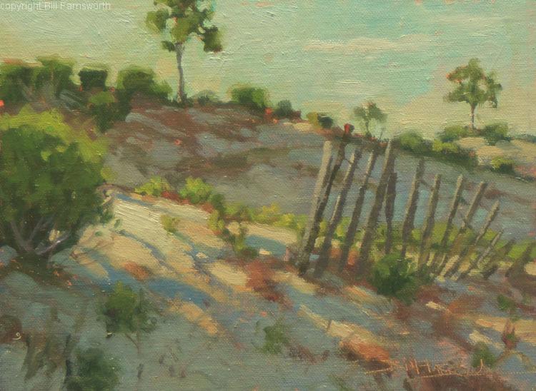 Bill Farnsworth - Morning Dunes (plein air)