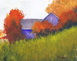 Zan Barrage - Brisk Autumn Morning