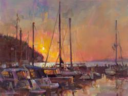 Tom Nachreiner - Sister Bay Sunset