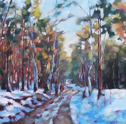 Judy Gelfert - Winter Outing