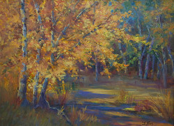 Jacquelyn Blue - Fall Reflections