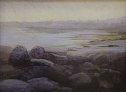 Jane Penfield - Star Island Fog