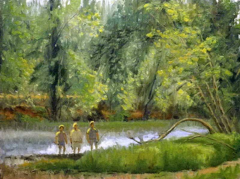 Daniel Fishback -  Illinois River Fishermen