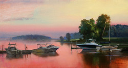 Keith Gunderson - Sunset on the Sound