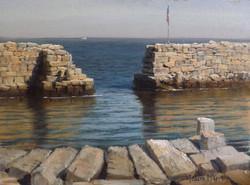 Joseph McGurl - Study of Granite Seawalls