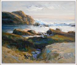 Alex Perez - Rocks at Sunset in Zapalla