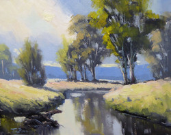 John Rice - Winter Afternoon On The Cudgegong