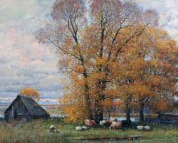 Alexander Shevelev - Autumn in Borisoglebsk