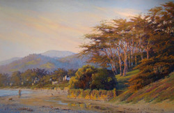 Clark Mitchell - California Dreaming (pastel)