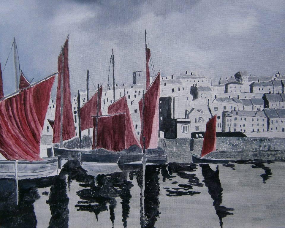 Andy Davis - Whitby Harbor