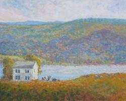 Ramona Dooley - Farmhouse Above the River