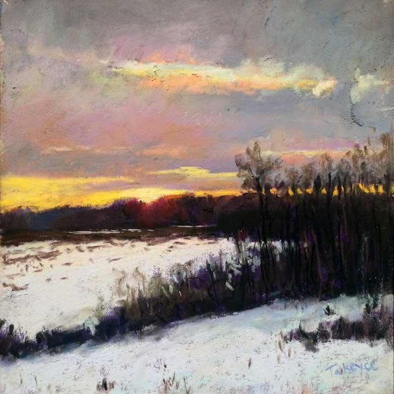 Takeyce Walter - Winter Sunset