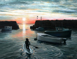 Eileen Patten Oliver - Paddling, Lanes Cove