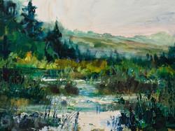 A.S. Helwig - Alberta Wetlands Morning