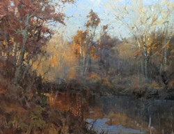 Roger Dale Brown - Autumn Along the River