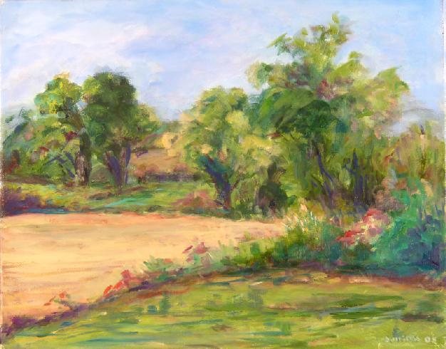 Julliette Tehrani - Sunlit Meadow