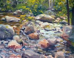 Douglas Howe - Rocky Stream, Jackson, New Hampshire