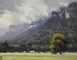 John Rice - Clouds On The Cliffs, Glen Davis