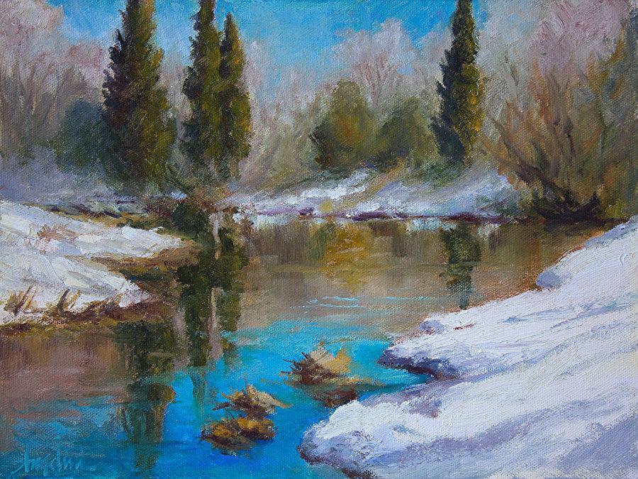 Nancy Angelini Crawford - Rebirth at Chester Creek