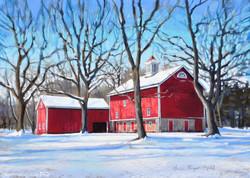 Erin Gill - Stover Barn in February