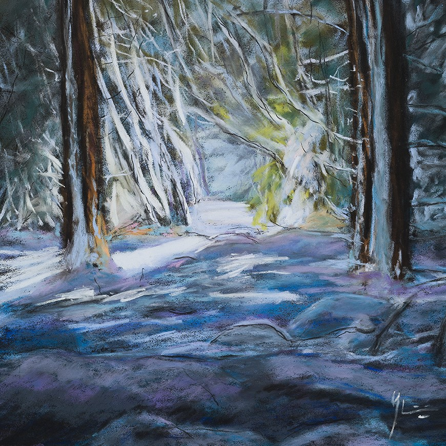 Pascal Gauthier - Blue Snow (Neige Bleue)
