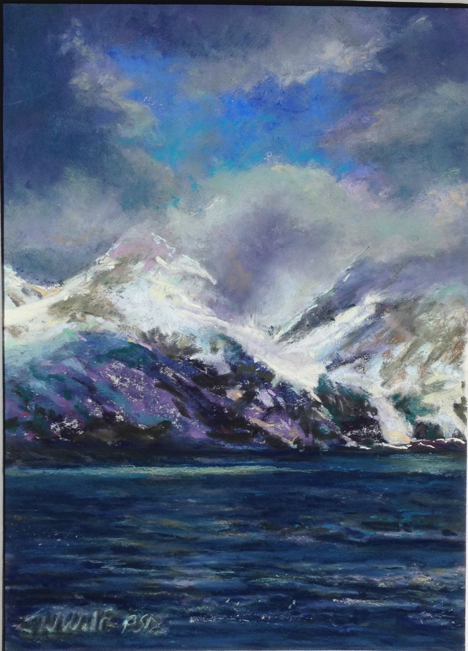 Jane Wright Wolf - Glaciers, Antarctica