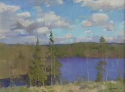 Alexander Zimin - Autumn Lake