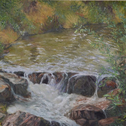 Nickie Barbee - Creek at Wild Mountain