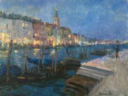 Oksana Johnson - Evening in Venice