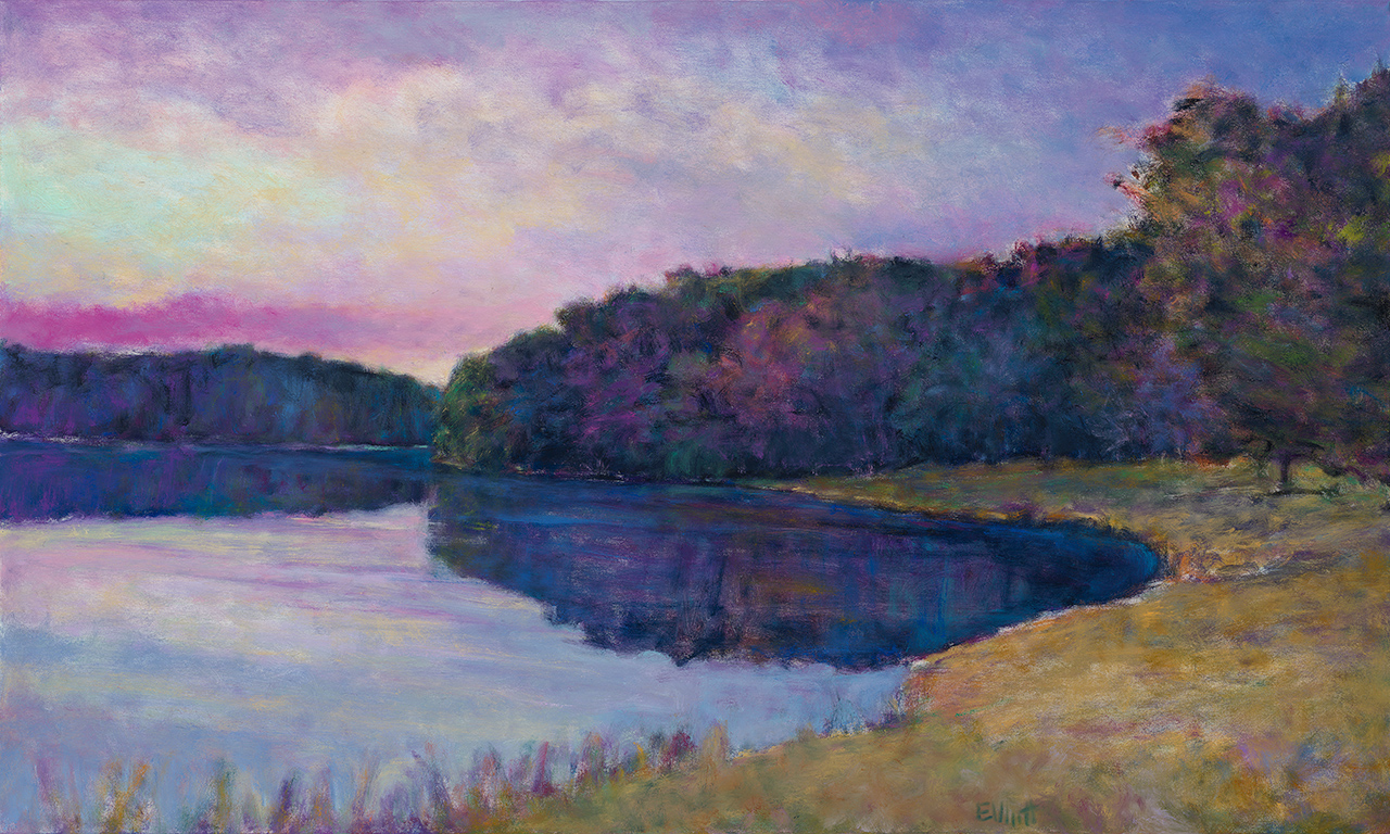 Ken Elliott - Tomahawk Lake View.jpg