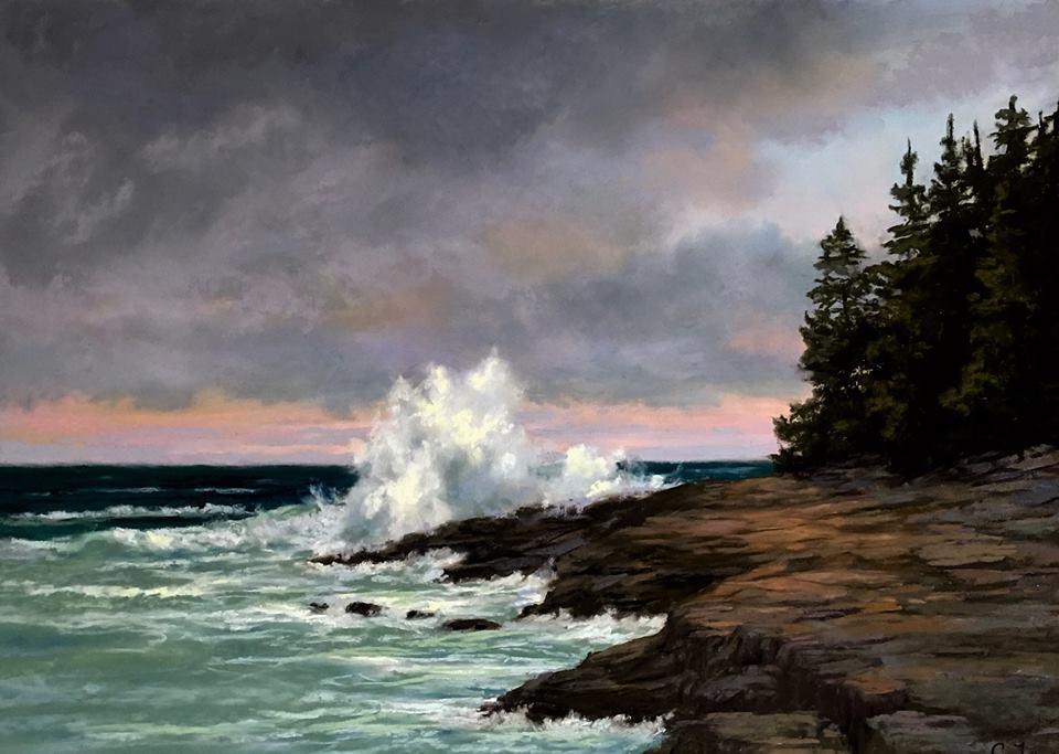 Candi Ferguson - Sunset in Maine