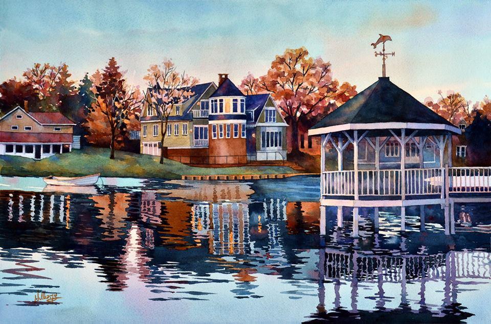 Mick Williams - Morning on Silver Lake