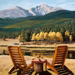 Mary M Giacomini - Table For Two