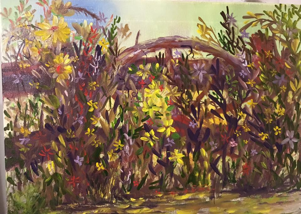 Julia Norton Stevens - Summer's Last Bouquet