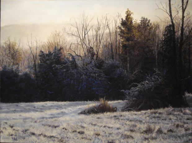 Marlene Wiedenbaum - Rock Hill Morning Frost IV