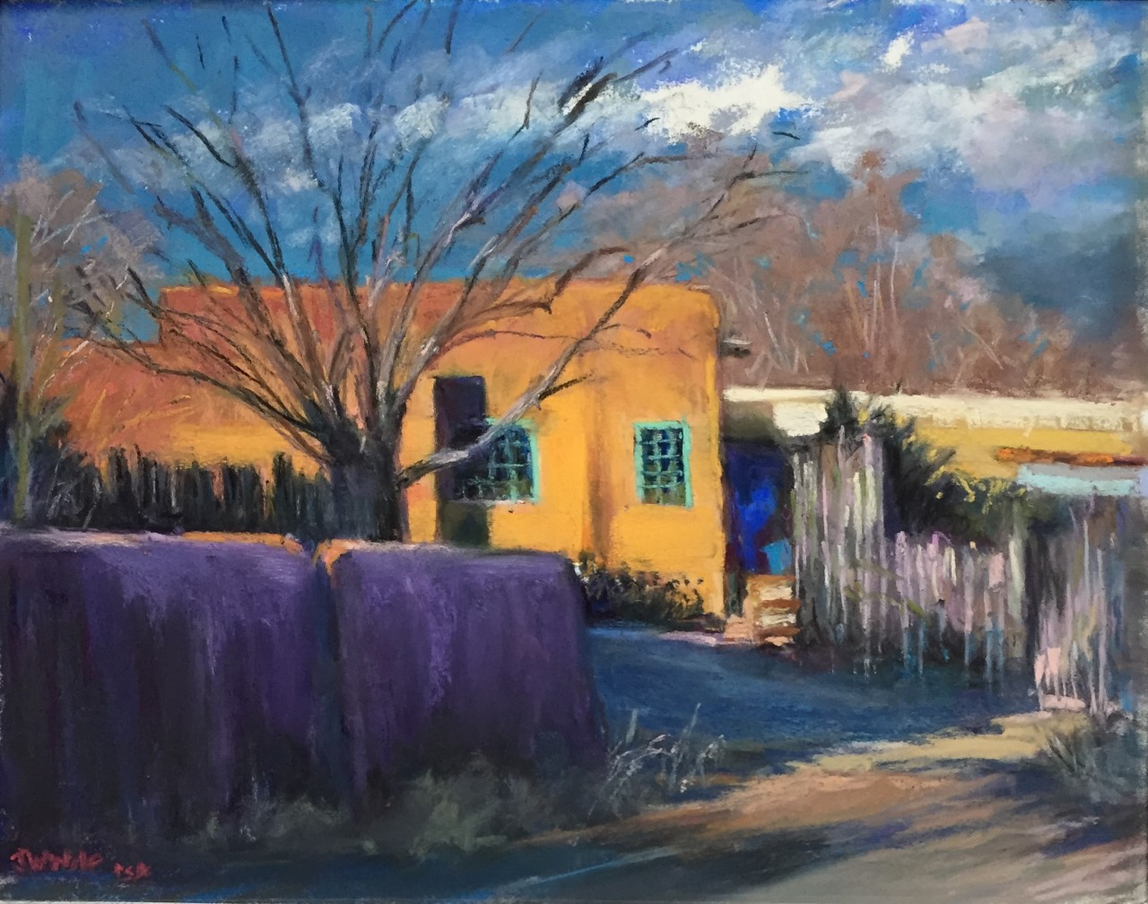Jane Wright Wolf - Taos Evening Light